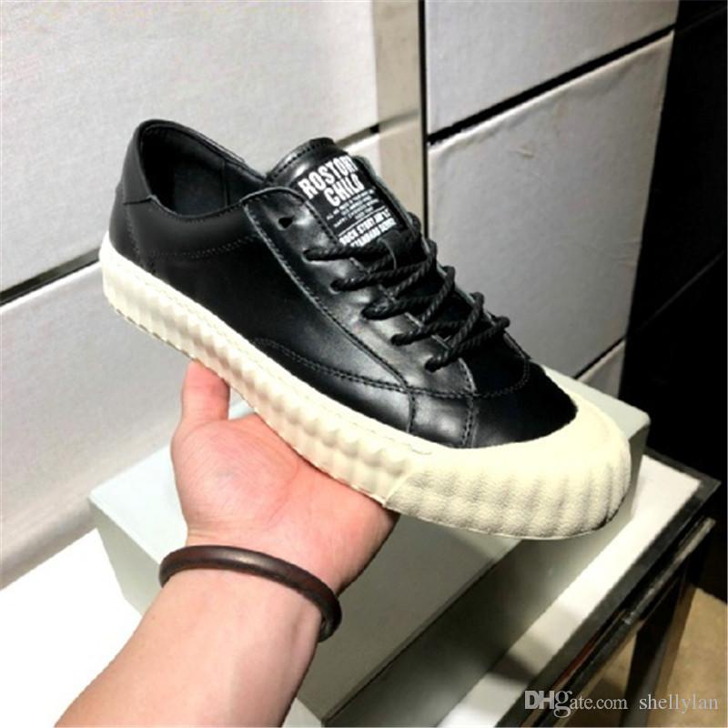 Модная мужская повседневная повседневная обувь в помещении с влагостойким дизайном из искусственной кожи Европа 38-44 черно-белый двухцветный вариант
