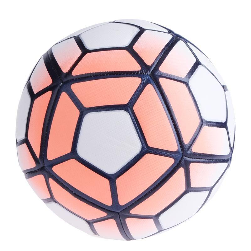 축구 공 NO.5 기계 수 놓은 축구 부드러운 PU 공 미끄럼 방지 훈련 축구 목표