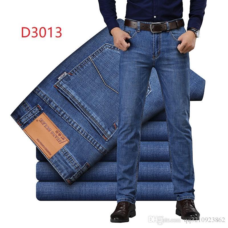Erkek Moda Serin Kot Sıkıntılı Motosiklet Biker Jeans Kaya Canlanma Sıska Erkekler Tasarımcı Kot Ince Yırtık Delik Düz erkek Denim Pantolon