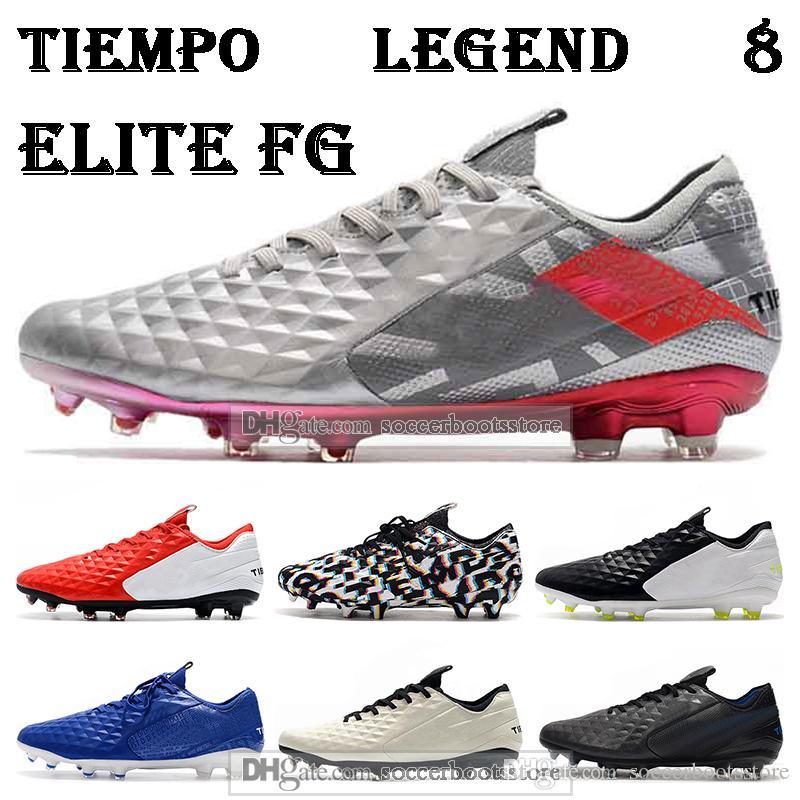 Gift BAG men Low Ankle Football Boots Tiempo Legend VIII Elite FG Soccer Shoes Tiempo Legend 8 ACC Soccer Cleats