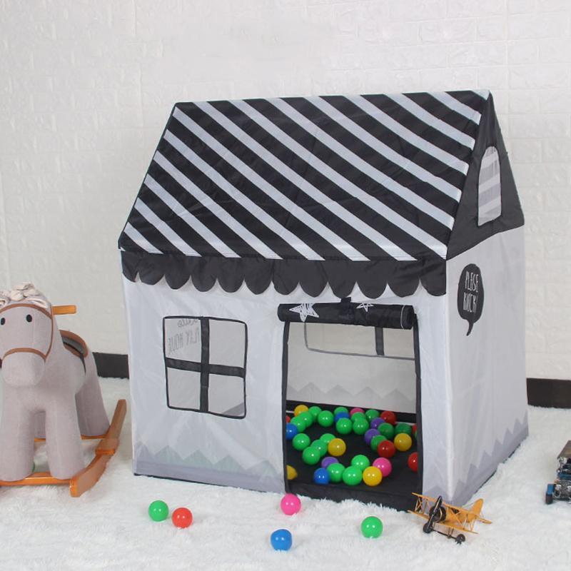 하우스 실내 재생 및 야외 간편한 접이식 오션 볼 풀 구덩이 게임 텐트 플레이 헛 여자 가든 극장 키즈 어린이 장난감 텐트 Z1056