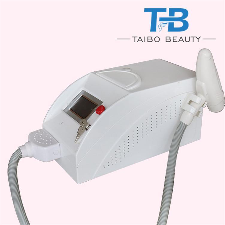 Laser nd yag portatile di vendita calda per rimozione di tatuaggi e rimozione di pigmentazione, ringiovanimento della pelle mediante trattamento con buccia di carbonio per spa