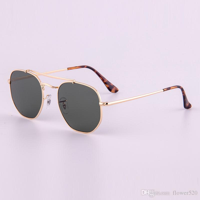 3648 New arrival Sunglasses G15 glass lense general model sun glasses shades men women UV protection glasses 54mm with all original packages
