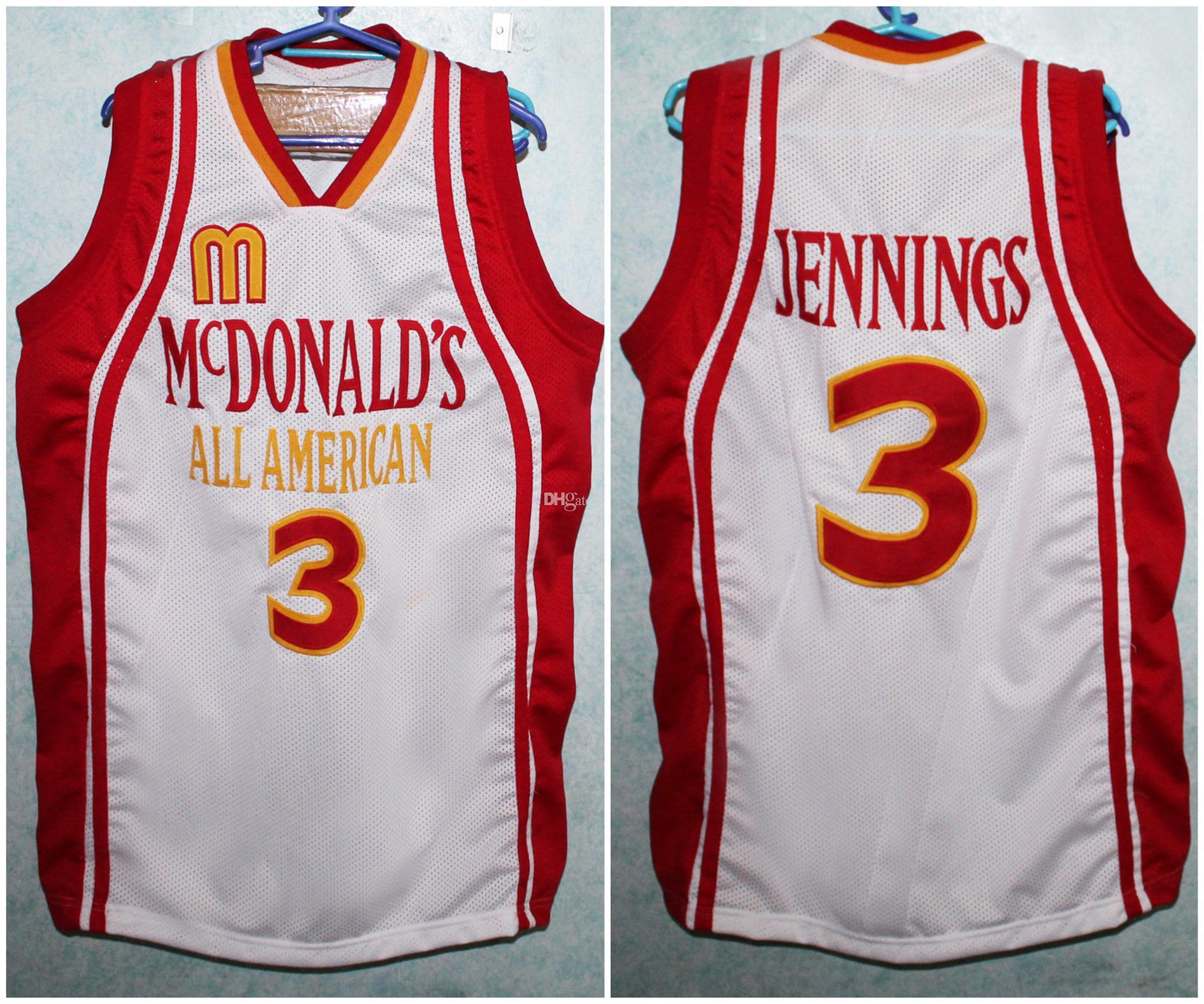 2021 McDonalds All American Brandon Jennings #3 Retro ...