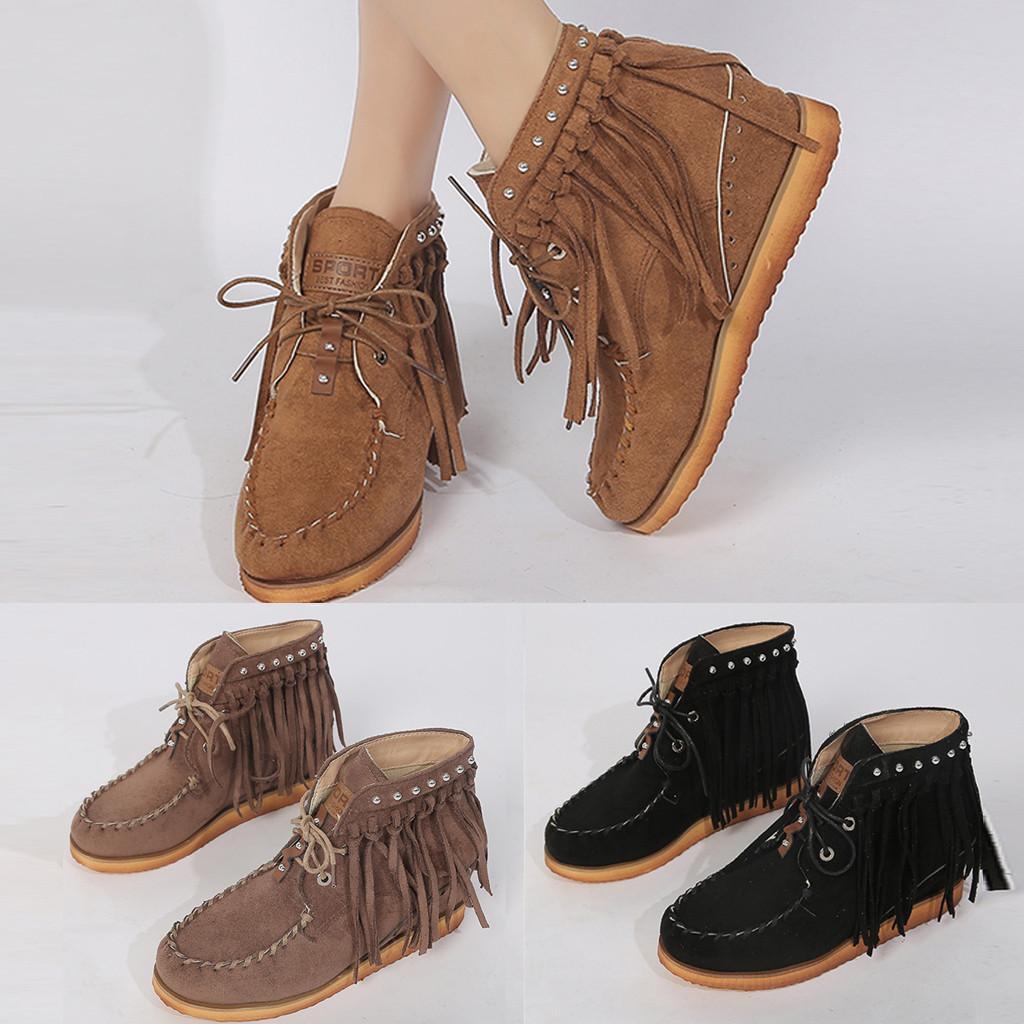 أزياء المرأة فلوك شقق الدانتيل متابعة جولة اصبع القدم أحذية بكعب منخفض هامش الأوتاد التمهيد