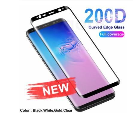 200D изогнутый край защитное стекло На для Samsung Galaxy S8 S9 S10 Plus S10E S7 Примечание 8 9 10 протектор экрана закаленное стекло пленка