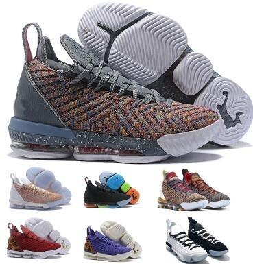 16 16s Tênis de basquete Sneakers Grey Igualdade Mik LMTD I Promise Oreo 1 Thru 5 o que o Bred 2019 Mens Man Xvi Shoes