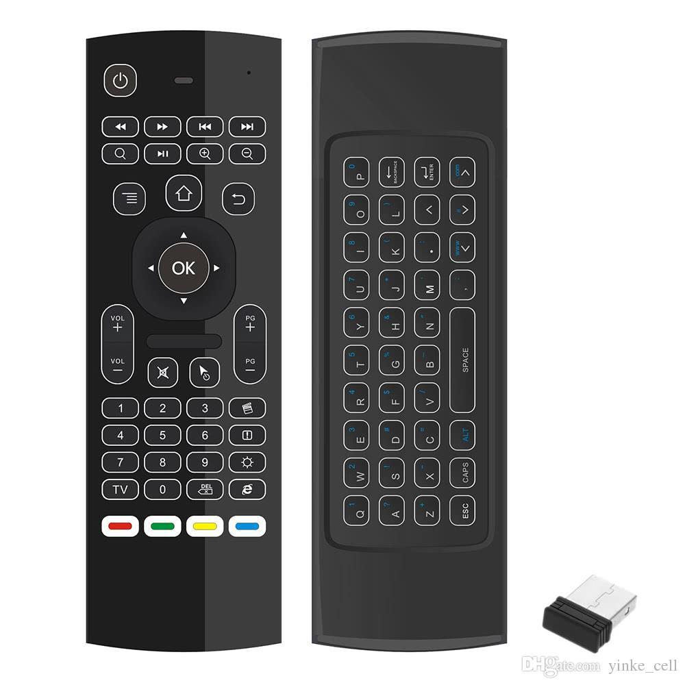 Клавиатура Fly Air Mouse беспроводной пульт дистанционного управления тачпад 2.4 ГГц для Linux Mac OS Windows PC Smart TV Set-Top Android TV BOX