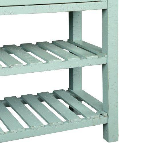 Console Retro Table pour Entrée avec tiroirs et Mobilier de salon