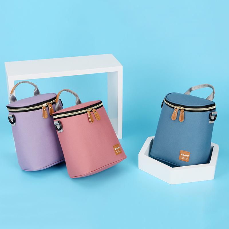 Mummia borsa della borsa a tracolla di isolamento sacchetti di cibo borsa refrigerante Latte termica sacchetto del bambino con il seno Fresh Keeping BNA015