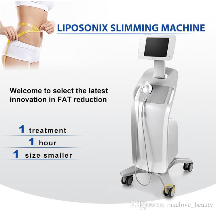 Liposonix Weight loss tummy control HIFU High Intensity focused ultrasound Slimmiing Machine Fast Fat Removal S body shape HIFU machine