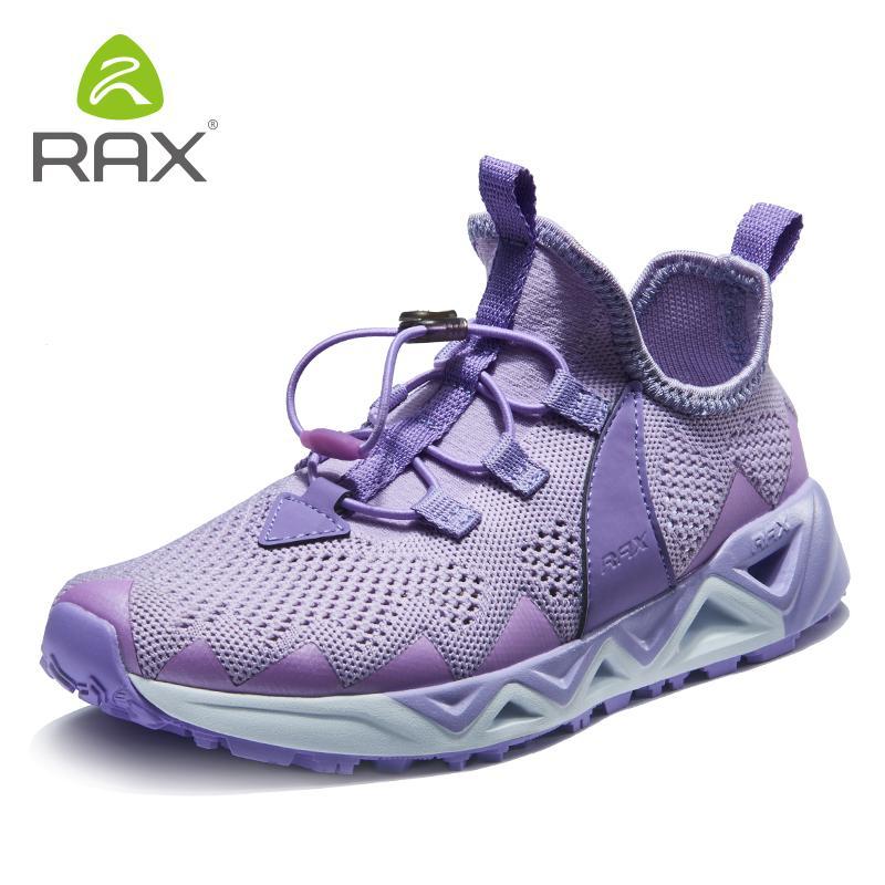 RAX Mujeres Upstreams aguamarina zapatos deportivos al aire libre de las zapatillas de deporte femenino de la playa del verano sandalias de secado rápido Mar Natación FishingShoe