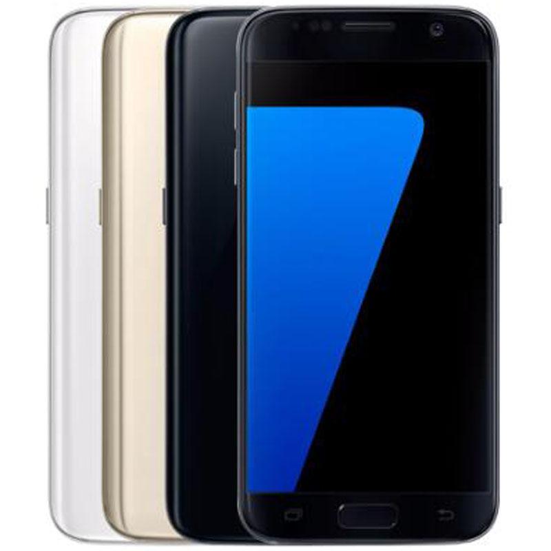 Reformado original para Samsung Galaxy S7 G930F G930A G930T G930V G930P 5,1 pulgadas Quad Core 4 GB de RAM 32 GB ROM 12MP LTE desbloqueado teléfono DHL 10pcs