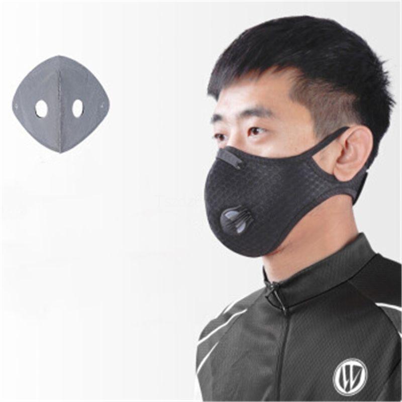 300 1PCS substituível Face For Máscara PM2.5 Com Carvão Ativado Poeira Pm 2,5 s Máscara Air # QA377