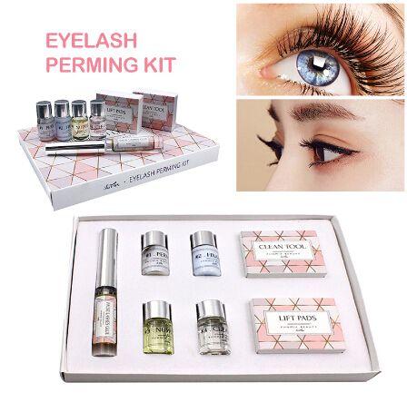 Mini Eyelash Perming Kit Eyelash Lift Cilia Tools Perming Kits Rods Glue Makeup Tools Lash Lifting Kit