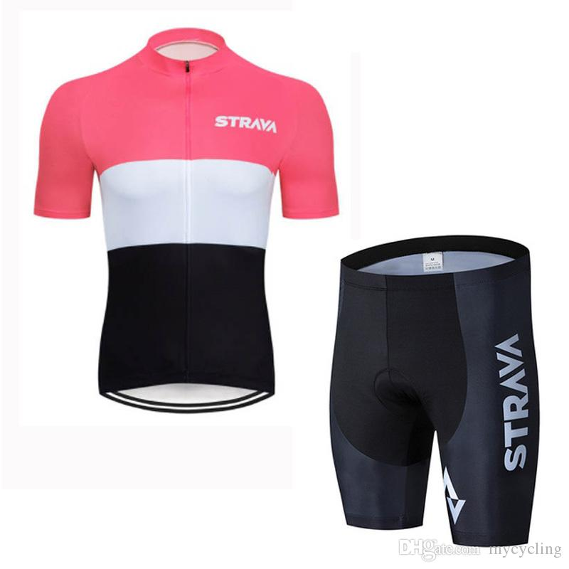 Mens Short Sleeve Bike Cycling Jersey Team MTB Bicycle Shirt Clothing Race Wear