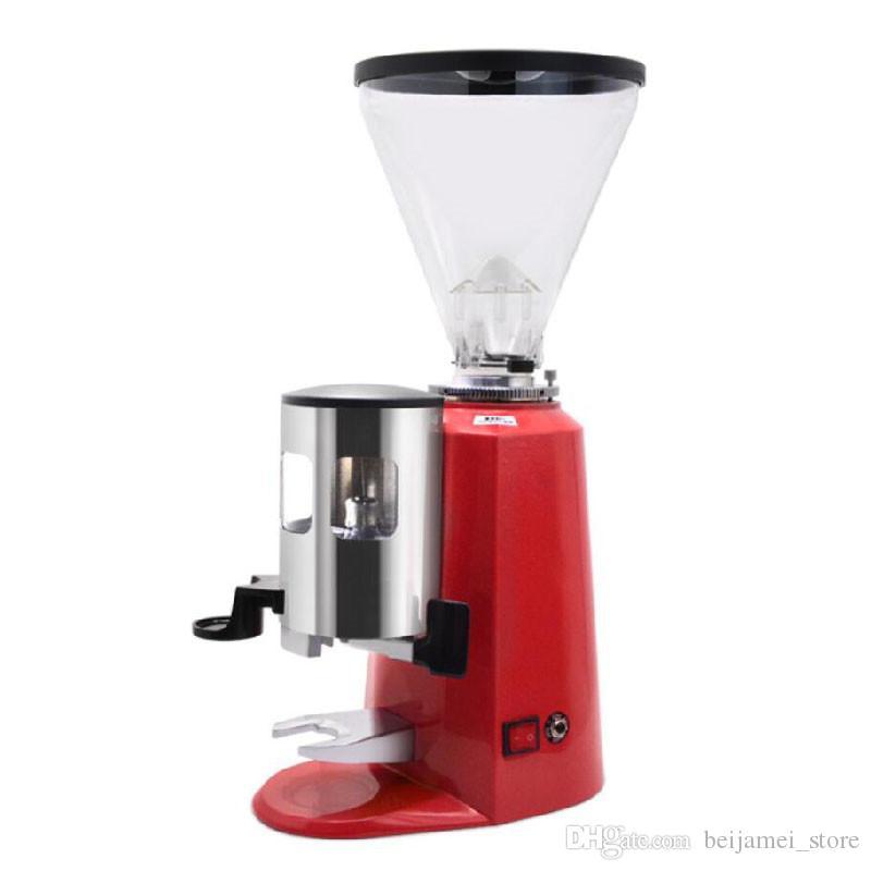 BEIJAMEI bassa temperatura di macinazione macchina per il caffè del caffè elettrica fagiolo macinino da caffè in polvere commerciale Grinding fresatrice