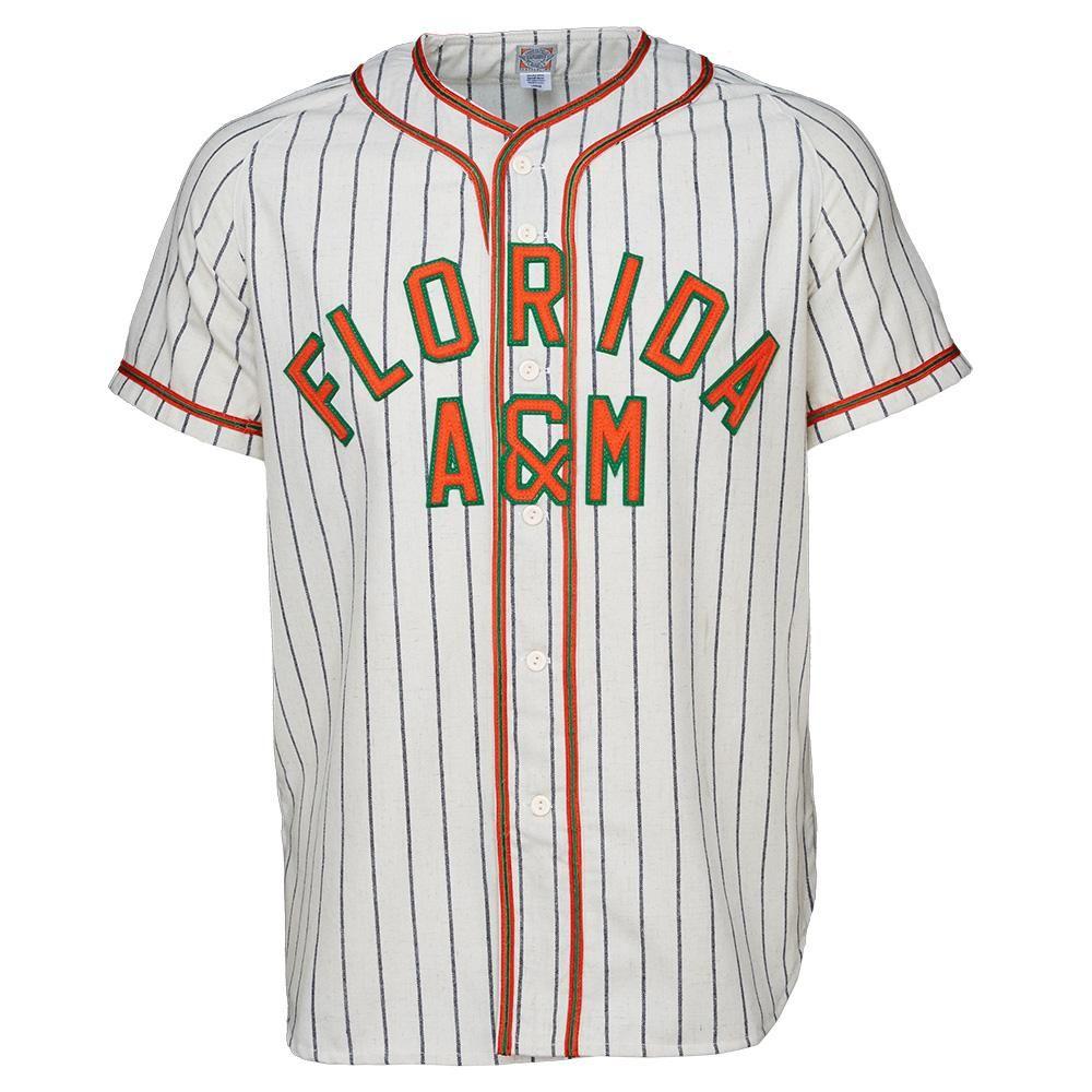Florida AM University 1965 Home Jersey 100% Logos de bordados cosidos Vintage Jerseys de béisbol Aduana Cualquier nombre Cualquier Número Envío Gratis