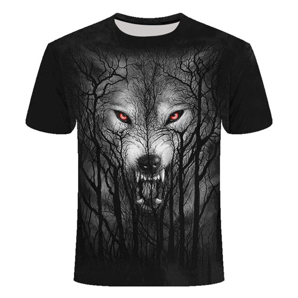 Мужская футболка повседневная 3D Лев печатная одежда с коротким рукавом дышащий топ тройники фитнес футболка повседневная животные футболки мужчины