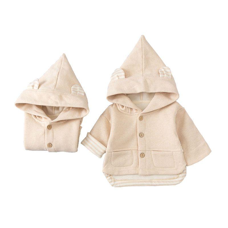 Vêtements pour enfants style tout-petits garçons filles Manteau Veste à capuche chaud Automne Hiver vêtements d'extérieur pour garçons Vêtements bébé fille Outwear