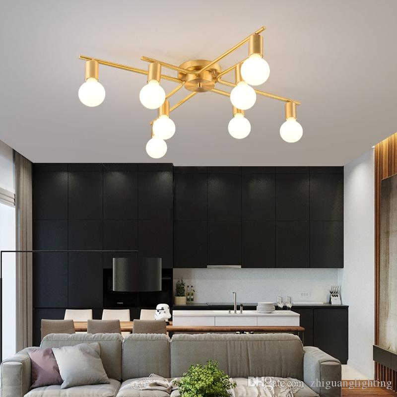 2021 Bedroom Lamp Full Copper Ceiling Lamps American Round Simple Modern Warm Aisle Lamp Interior Lamp Lustre Kitchen Ceiling Lights From Zhiguanglighting 199 Dhgate Com