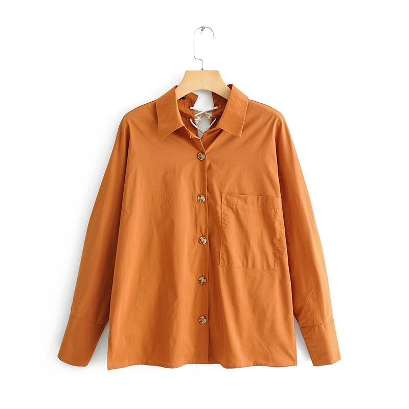 Katı Ceket Moda Kadın Ince Bahar Kadın Ceket Cep Rüzgarlık Uzun Kollu Kadın Geri Kayış Tasarım Giyim
