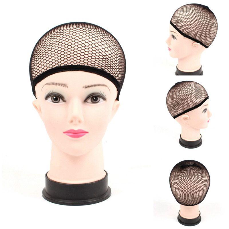 Filet à cheveux Tissage Noir de la perruque Filet à cheveux faisant des casquettes Tissage de la casquette de la perruque