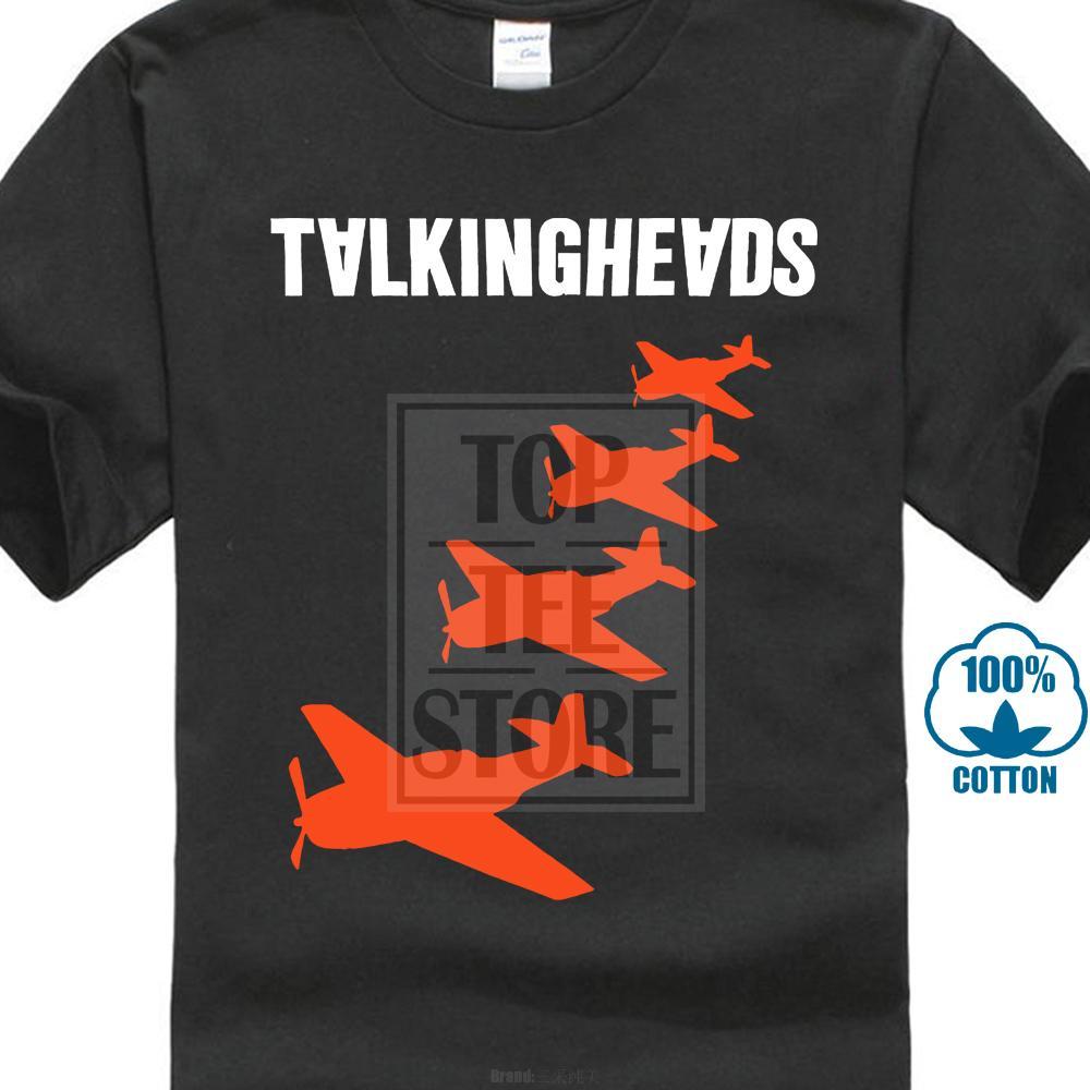 Verão 2019 Famosa Marca Falando Chefes de Aviões Logo Slim Fit Camiseta Byrne S M L Xl Novo Homem T Camisa Gola Redonda Tees Carta