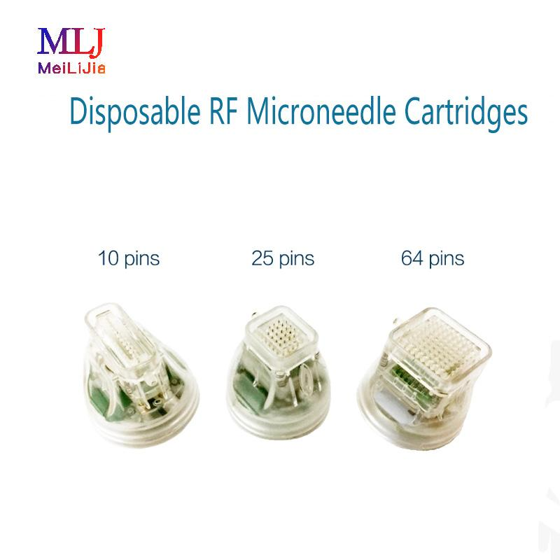 Micro Needle Gold Cartridge 10/25/64 Pines para Micro-Needle Fractional RF Machine con certificación CE