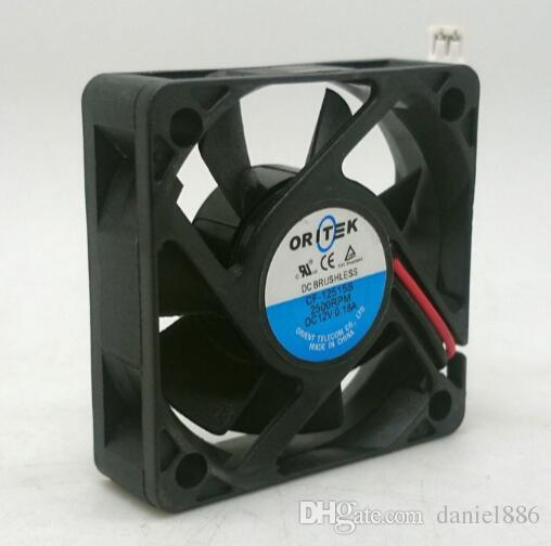 CF-12515S 0.18A 12V 5015 de dos hilos humidificador ordenador contadores de energía Silencio mini ventilador