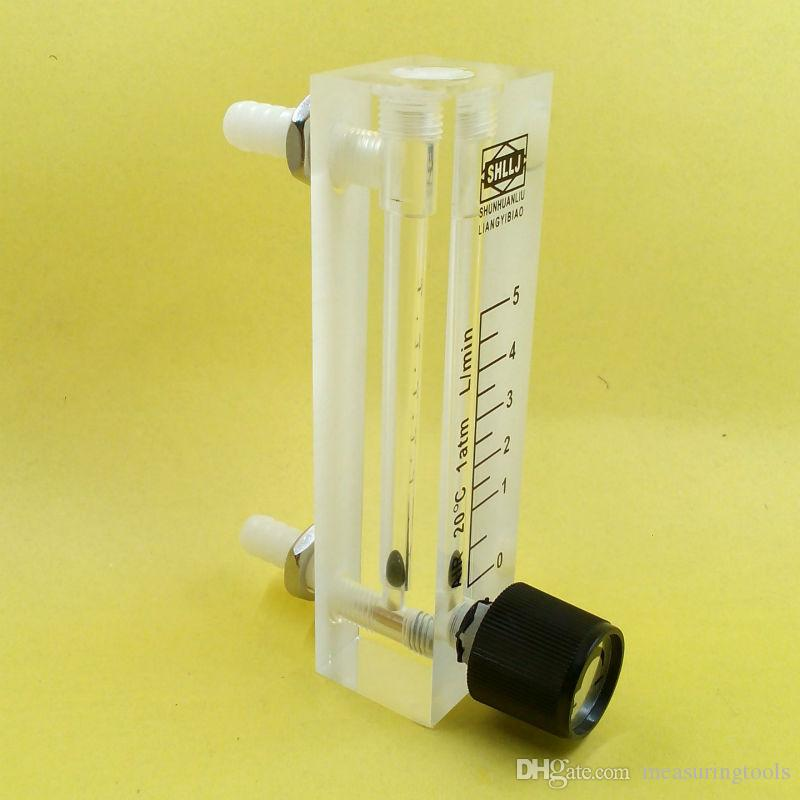 Fluj/ómetro de Generador de Ox/ígeno Medidor de Flujo 0.5-5LPM