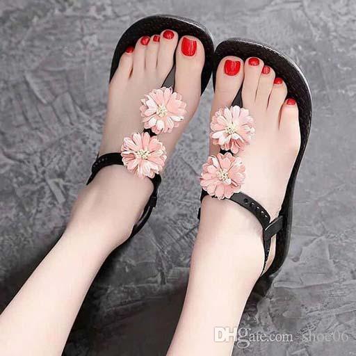 saltos das mulheres calçam sandálias de alta qualidade das sandálias Huaraches dos falhanços Loafers sapato para chinelo shoe06 PL1973
