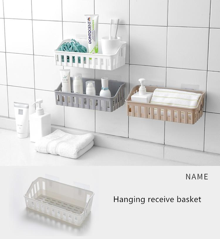 Frei von Aushöhlen kann aufgehängt werden Korb Kunststoff hängen erhalten erhalten Badezimmer Dusche Körbe durch übermäßige Niederschläge su verursacht Staunässe