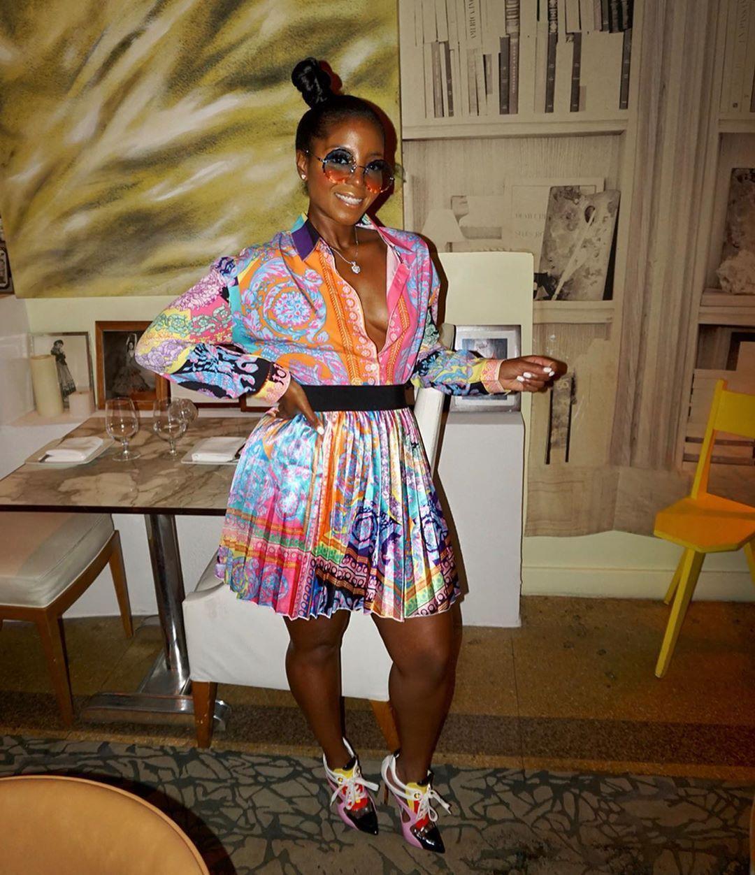 Las faldas de las mujeres ocasionales 2020 del diseñador de moda Tendencias atractiva mujer Faldas de gama alta FabricsQA2L ML9G