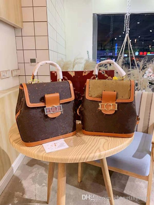 Han Edition presbiti Bucket Bag In Europa e la spalla inclinata Contratto borsa, delle donne delle ragazze Zaino Style Designer Shoulder Bag