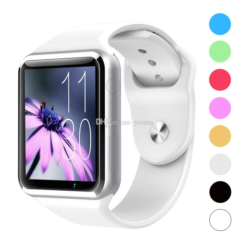 A1 Smart Bluetooth Watch For Apple iPhone Samsung Android Smartphone Full Function Smartwatch Support SIM / TF Card With HD Camera