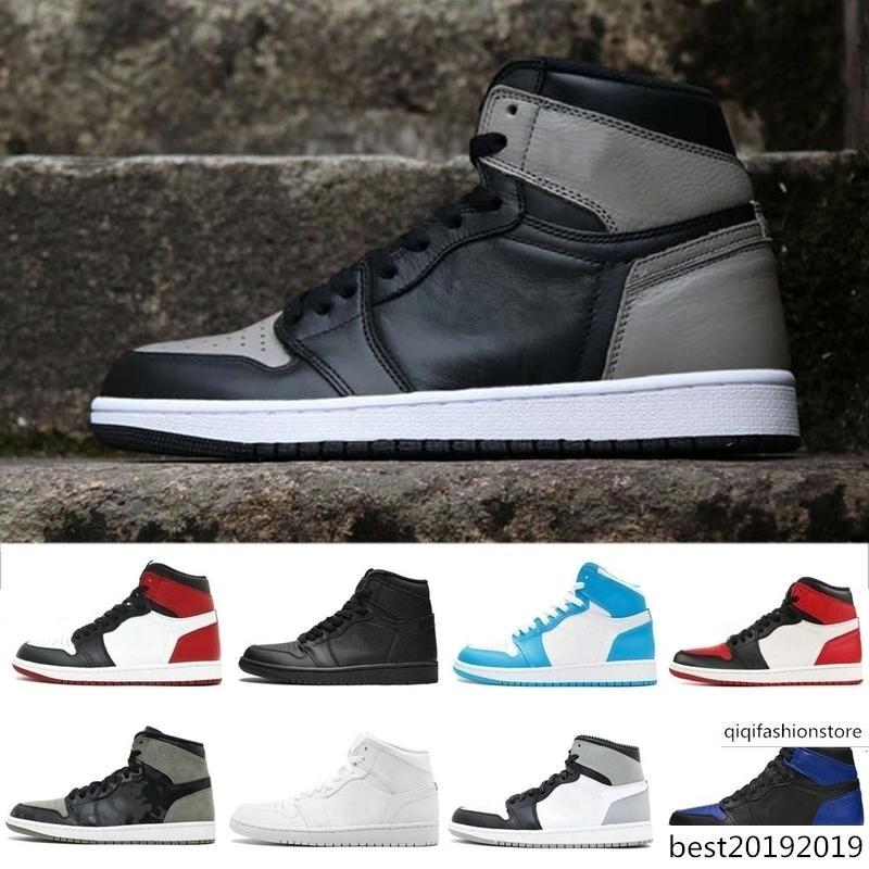 1 pallacanestro degli uomini Scarpe Sneakers Uomo Alto OG nel gioco pista rossa Reale 1s Top 3 Rookie of the scarpe Anno Multi