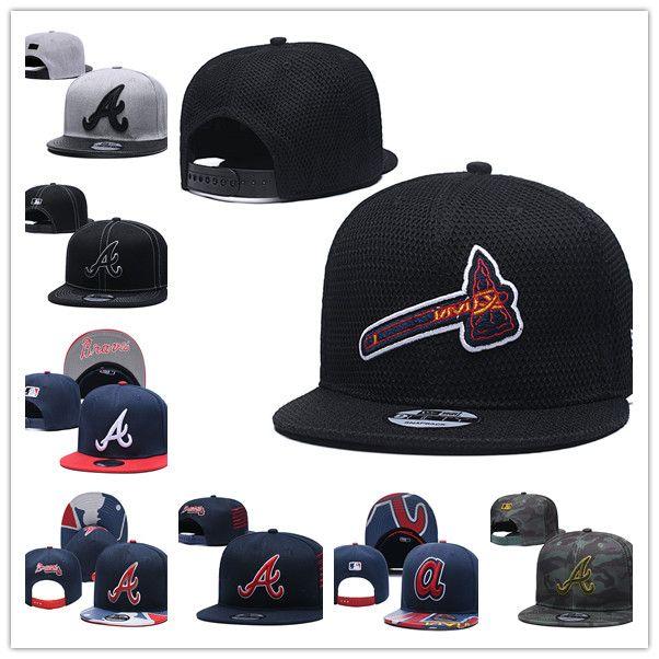 Many style 2019 Braves Baseball Snapback Hat men women Baseball caps Flat Casquette Gorras unisex boy sport caps casual cotton