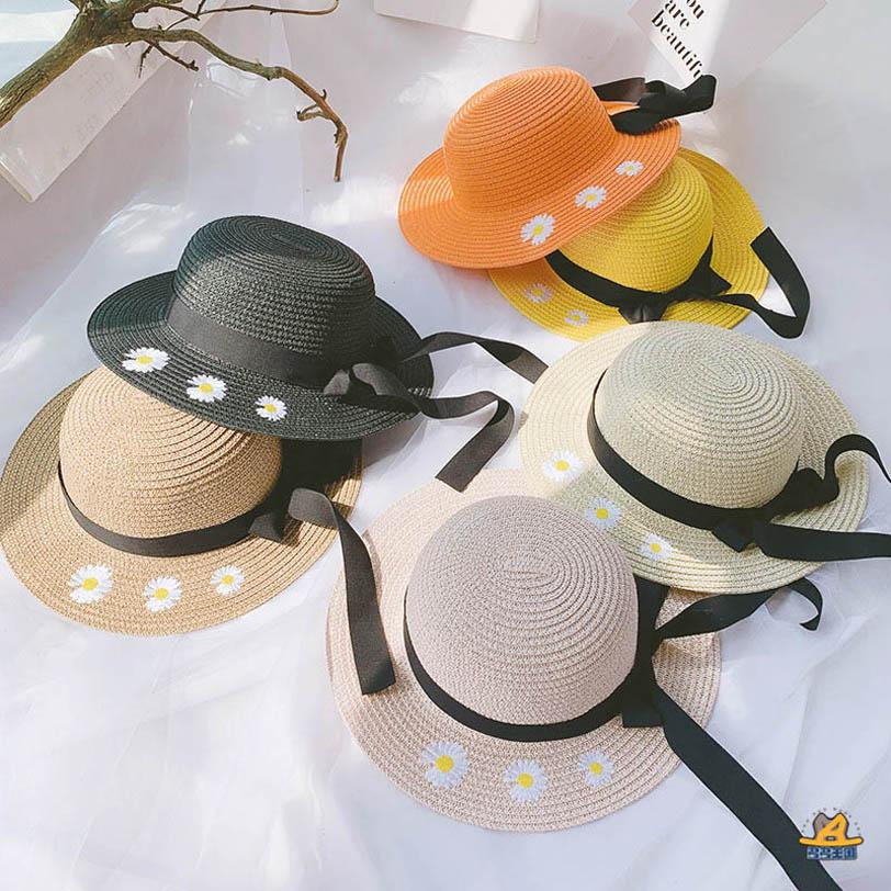 2020 nuova estate ragazze fiore cappelli bambini cappelli firmati bambini secchio cappelli moda cappello delle ragazze della paglia cappello bambini cappello della spiaggia B1162