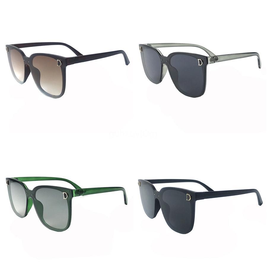 10шт заказ смешивания цвета ретро солнцезащитные очки высокого качества металла Петля очки женщин ВС очки красный Красочные UV400 стекло объектива Unisex # 957