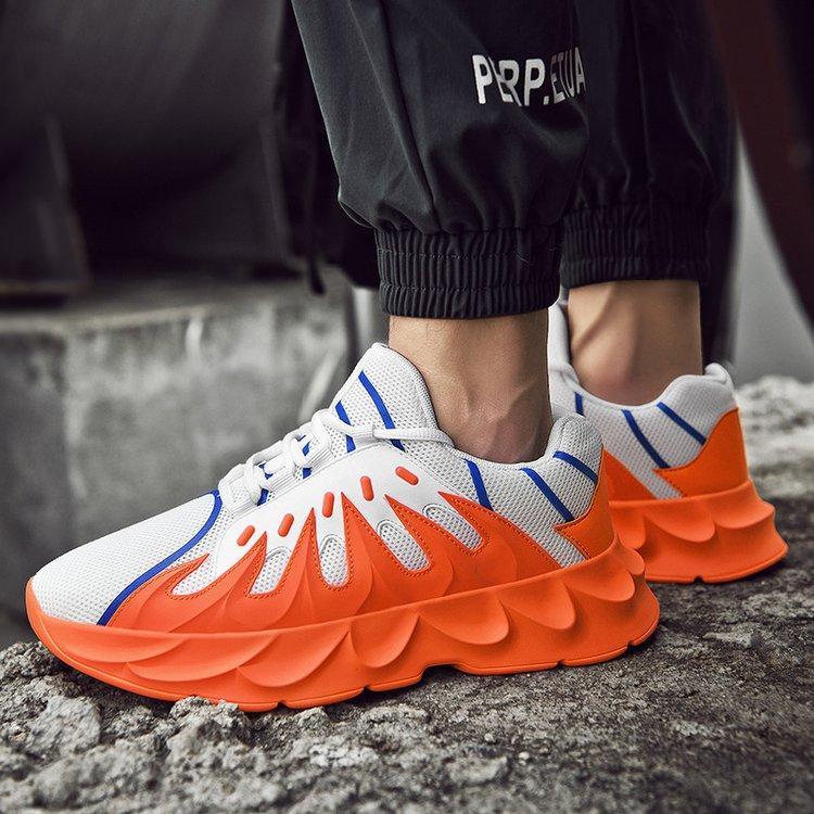 Niza alta manera superior de los zapatos ocasionales de los hombres cómodos Otoño 2121 Chunky zapatillas de deporte Tenis tamaño fresco Zapatos De Hombre