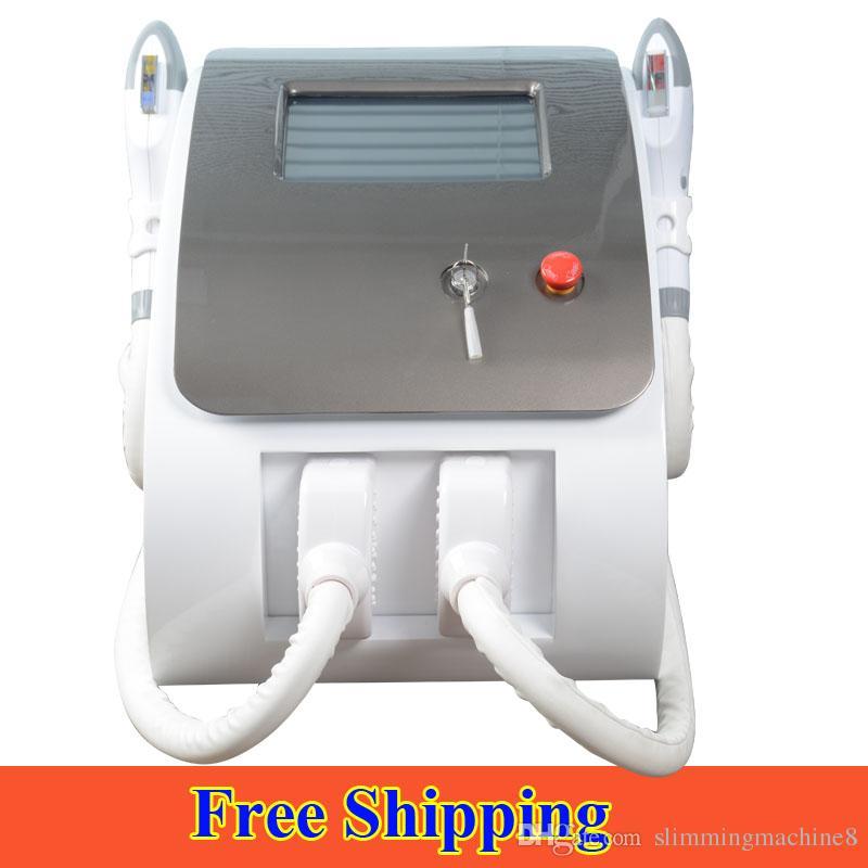 Portátil e luz láser de depilación rejuvenecimiento de la piel eliminación de la pigmentación del acné con láser IPL depilación definitiva