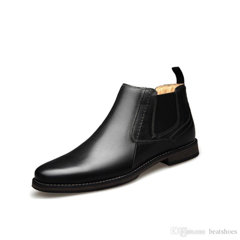 2020 designer männer kleid schuhe luxus stiefel hochwertige echte leder trainer männer business britisch beiläufige schuhe party hochzeitsschuhe
