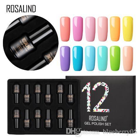 Гель-лак набор для маникюра гель-лак для ногтей 12 шт. / лот УФ-цвета полупостоянный гибридный Nail Art гель-лак набор комплектов