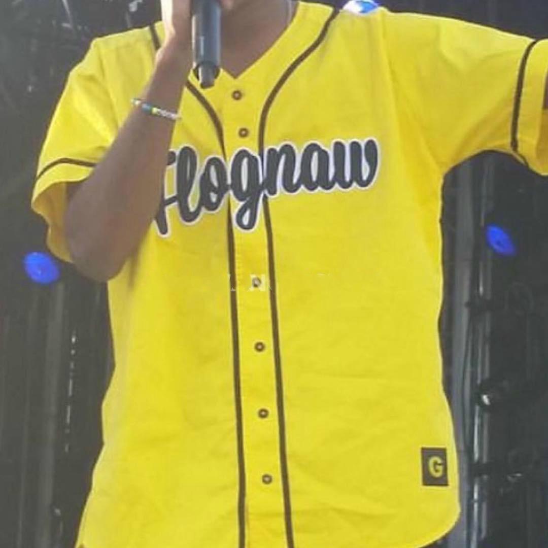 20SS Andys نمط GOLF-WANGFlognaw البيسبول جيرسي البيسبول سترة قصيرة الأكمام قمصان الرجال والنساء زوجين قميص HFWPTX436