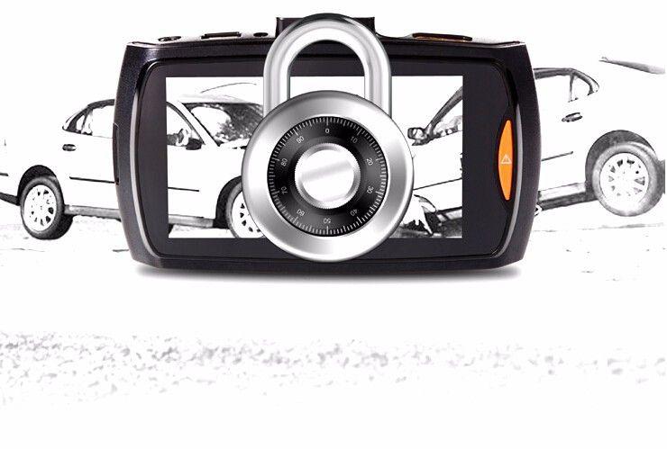 Auto Dvr Registratore per macchina fotografica G30 Utilizzo di schema Sunplus con rilevazione di movimento Visione notturna G-Sensor Dvrs Dash Cam Black Box Spedizione gratuita