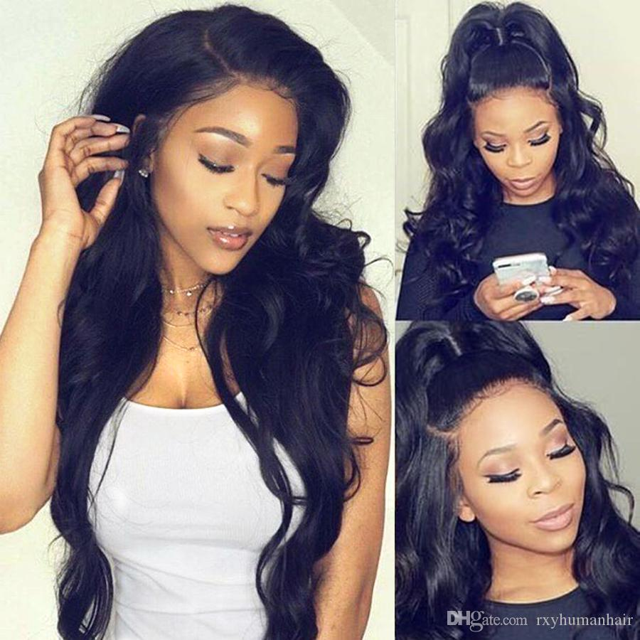 Affordable Malaysian Virgin Hair Body Wave Wigs Wet And Wavy Human Hair Lace Front Wigs Malaysian Body Wave Lace Wigs Wholesale Deals
