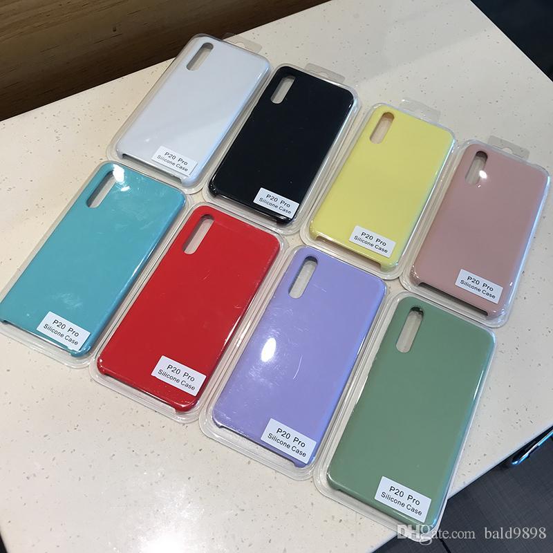 Silicone Case For HUAWEI Mate 20 P20Lite 10 P20 P30 P30Pro Cover For Honor 9 V10 8X lite Nova 3 4 Phone Case