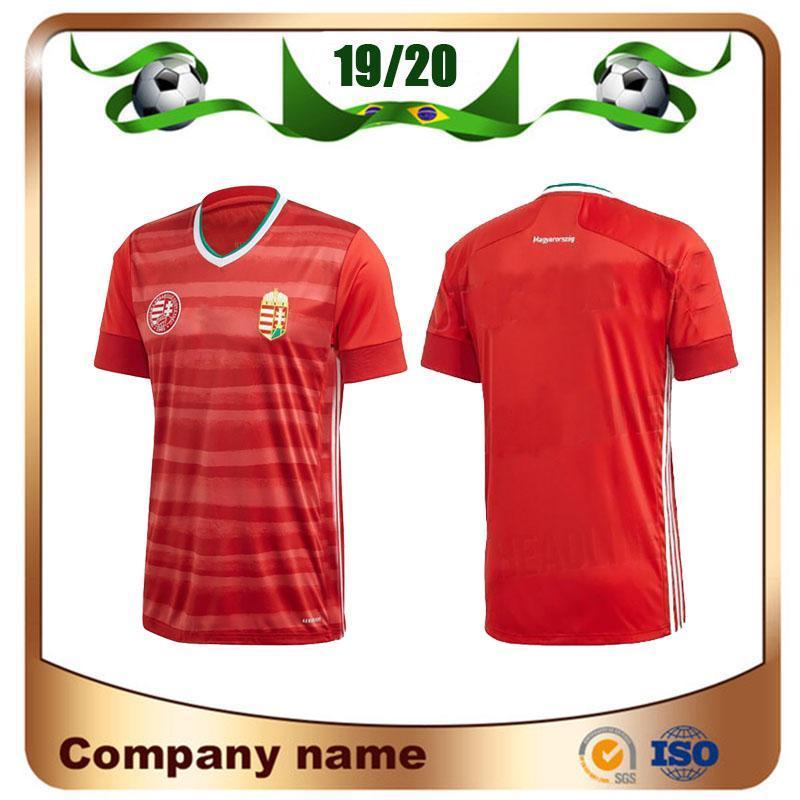 NEW Hongrie maison maillot de football rouge 20 21 équipe nationale Dominik Szoboszlai Willi Orban Tamás chemises uniformes Kádár de football haut thaïlande