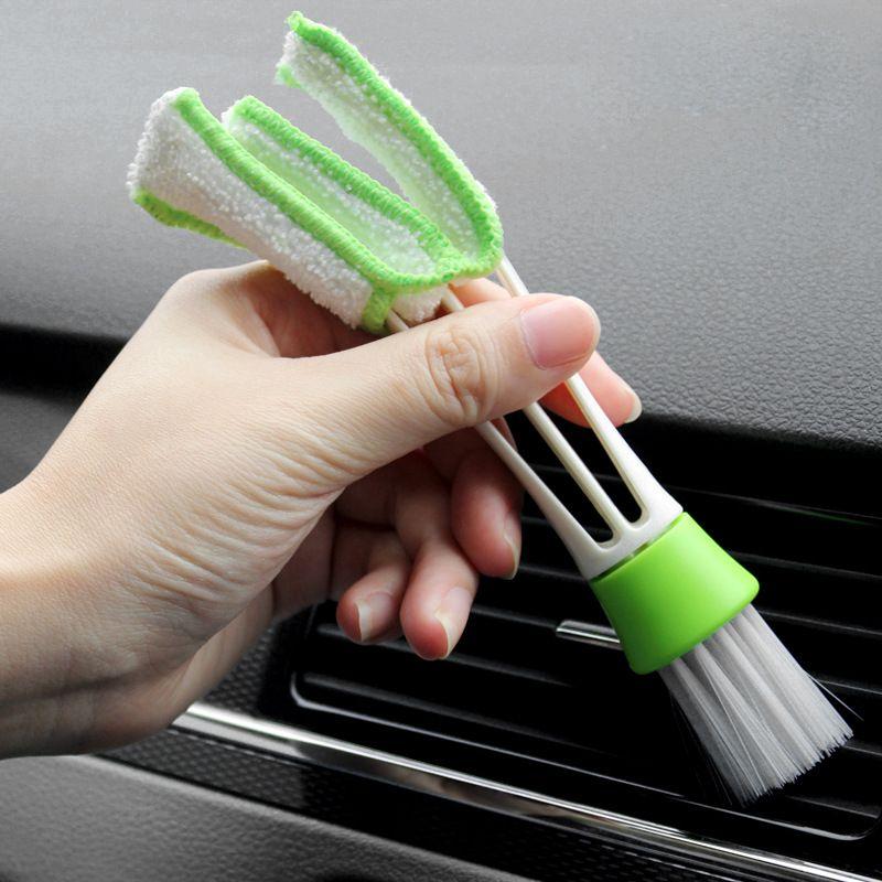 자동차 청소 브러쉬 키보드 먼지 청소 브러쉬 먼지 수집기 컴퓨터 청소 블라인드 클리너 주방 도구